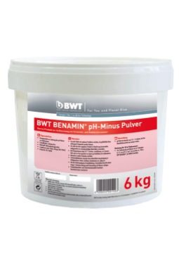 BWT Benamin pH-Minus Granulat 6 kg