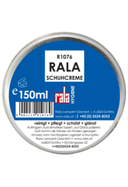 Rala Schuhcreme schwarz 150 ml