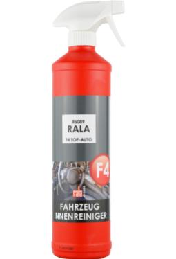 Rala F4 Top-Auto Innenreiniger 750ml + Sprühkopf