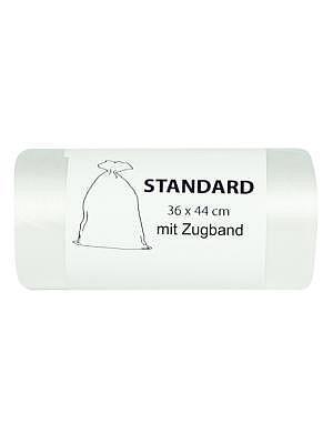 Abfallsack transp. 40 L 530x600 30Stk mit Zugband