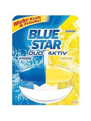 Blue Star Duo Lemon WC-Toiletteneinhänger