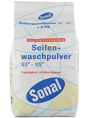 Sonal Seifenwaschpulver WEISS 40-95° 2 kg - TP