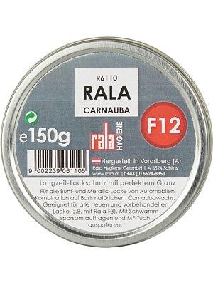 Rala F12 Top-Auto Carnauba SPEED Wachs PLUS 150g